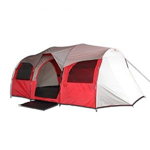 10-Person-Family-Sized-Tent-for-Camping-Red-or-Blue-Red-0