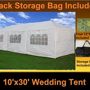 10-x-30-Party-Wedding-Tent-Gazebo-Pavilion-Catering-Carport-Shelter-White-Delta-Canopies-0
