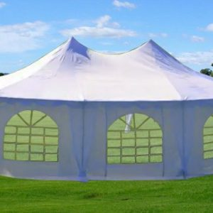 22x16-Octagonal-Wedding-Party-Gazebo-Tent-Canopy-Heavy-Duty-Water-Resistant-White-By-DELTA-Canopies-0