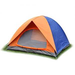 3-Person-Waterproof-Double-Layer-Tent-for-Outdoor-Camping-Hiking-Travel-FREE-SHIPPING-Orange-Royal-Blue-0