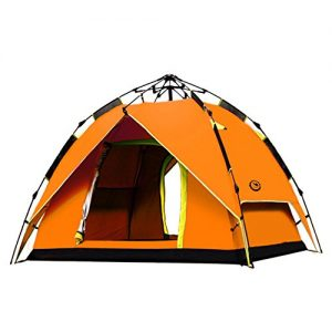 ANLENG-sha-mo-camel-Waterproof-Double-Layer-Tent-Automatic-Camping-Hiking-Folding-Outdoor-Orange-0