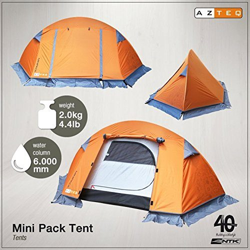 azteq minipack up 2 person 83 by 46