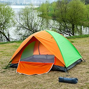 Alps-2-Person-Ultraviolet-proof-for-Outdoor-Sports-Camping-Hiking-Travel-with-Zippered-Door-Tent-With-Carry-Bag-0