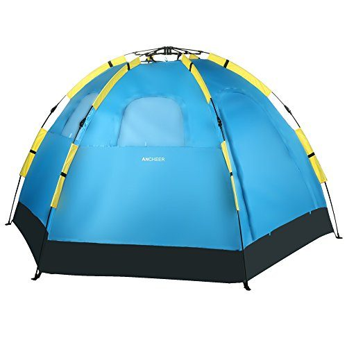 Ancheer-Blue-5-8-Person-Waterproof-Automatic-Pop-Up-Portable-Camping-Hiking-Tent-With-Carry-Bag-0