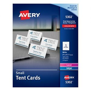 Avery-Small-Tent-Cards-2-x-35-Inches-White-Box-of-160-5302-0