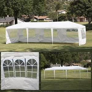 Bellezza-10x30-Canopy-Party-Wedding-Outdoor-HD-Tent-Gazebo-w-5-Removable-Wall-White-0