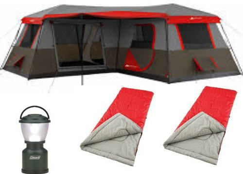Bundle Of 4 Ozark Trail 12 Person 3 Room Xl Stadium Cabin