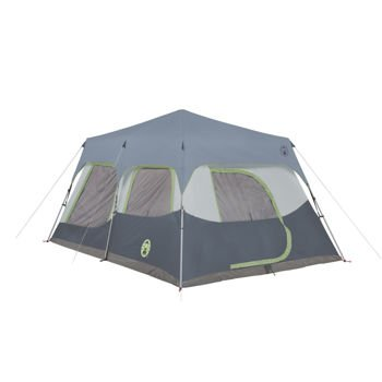 Coleman Instant 10 Person Cabin Tent With Rainfly 2 Rooms