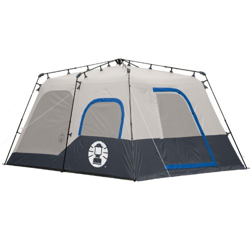 Coleman instant 8 person tent blue 14 10 feet discount for Room design 14x10