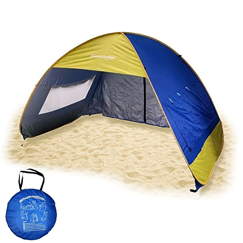 Easygo Sun Shade Instant Pop Up Family Beach Umbrella Tent
