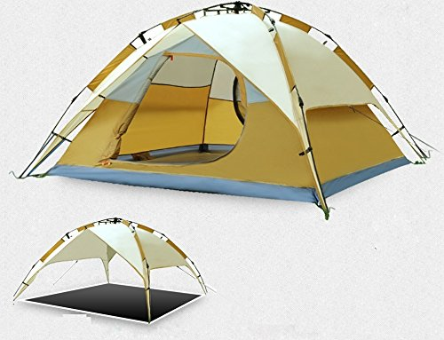 FiveJoy-Instant-3-Person-3-Season-Dome-Tent-  sc 1 st  Discount Tents Nova & FiveJoy Instant 3 Person 3 Season Dome Tent u2013 Double-Wall Two-Door ...