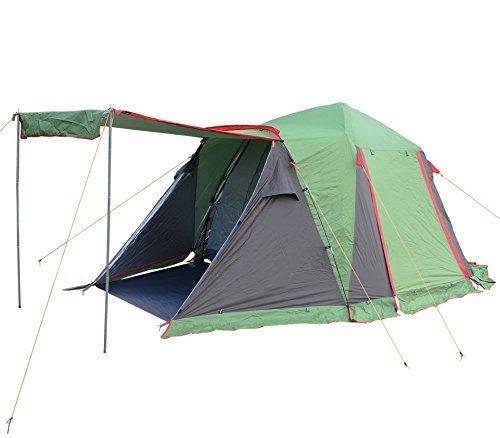 Funs instant 4 to 5 person 3 season hydraumatic cabin for Cheap wall tent
