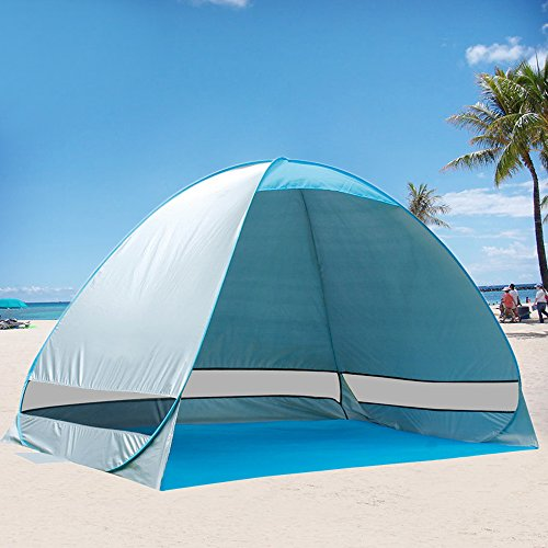 Beach Cabanas Portable Shelter : G free outdoor automatic pop up instant portable cabana