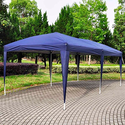 Giantex 10'x20′ Ez POP up Wedding Party Tent Folding ...
