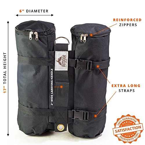 LARGE Canopy Weight Bags 40 Lbs For Portable