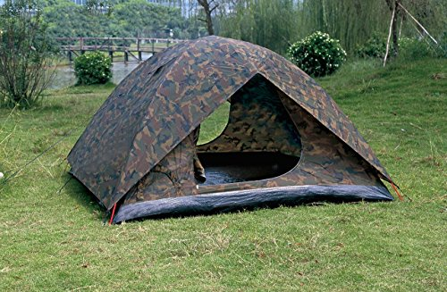 NTK Amazon 3 to 4 person 6.8 by 6.8 Foot Camouflage C&ing Hiking Tent 100% Waterproof 1200mm. | Discount Tents Nova : cheap hiking tents - memphite.com