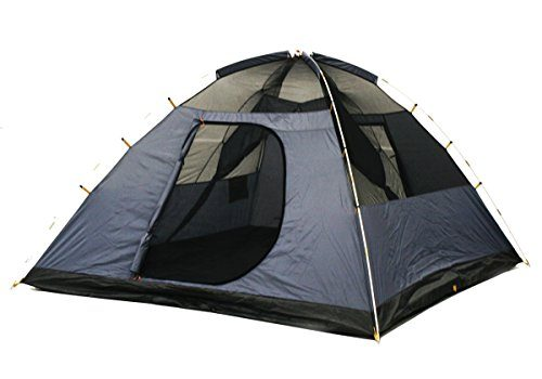 ntk cherokee gt 5 to 6 person 98 by 98 foot sport camping dome tent 100 waterproof 2500mm discount tents nova