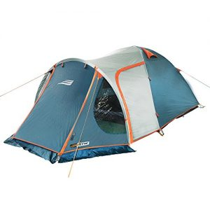 NTK-Indy-GT-3-to-4-Person-12-by-7-Foot-Sport-Camping-Tent-100-Waterproof-2500mm-0