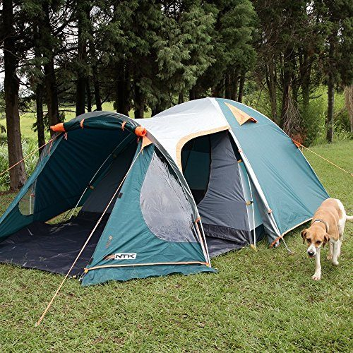 ntk indy gt 4 to 5 person 122 by 80 foot sport camping tent 100 waterproof 2500mm discount tents nova