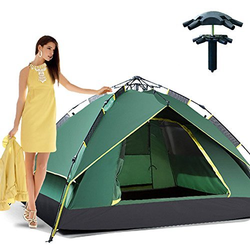 Outdoor Hiking Automatic Pop Up Double Layer Instant Open