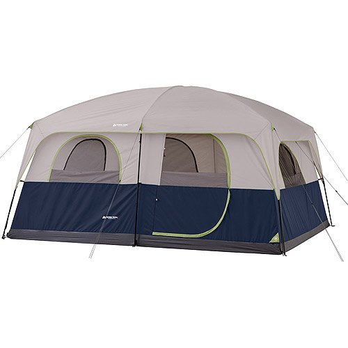 Two Room Cabin Tent With Screen Room With Straight Wall