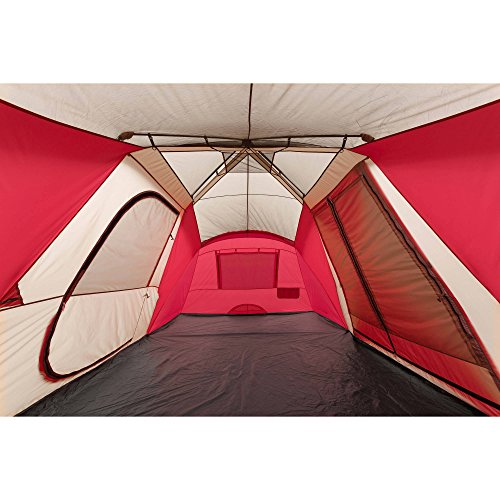 Ozark Trail 12 Person 3 Room Hybrid Instant Tent With