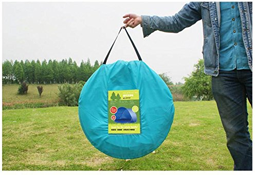 Portable Pop Up Sun Shelter Uv Wind Tent Uv Protection 1 2