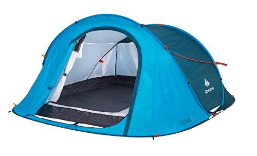 Quechua-Waterproof-Pop-Up-C&ing-Tent-2-Seconds-  sc 1 st  Discount Tents Nova & Quechua Waterproof Pop Up Camping Tent 2 Seconds Easy III 3 Man ...