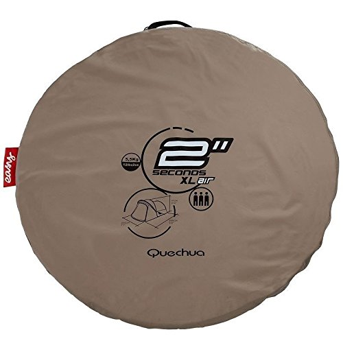 Quechua-Waterproof-Pop-Up-C&ing-Tent-2-Seconds-  sc 1 st  Discount Tents Nova & Quechua Waterproof Pop Up Camping Tent 2 Seconds XL AIR III 3 Man ...