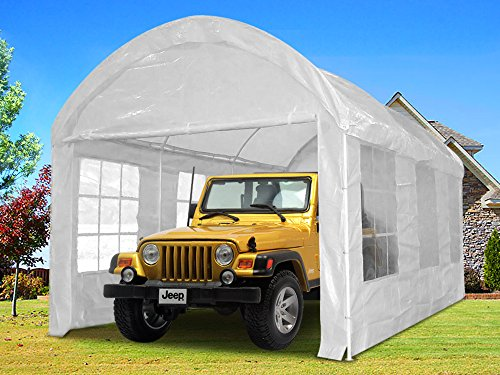 Portable Garages Brands : Quictent heavy duty portable carport canopy garage