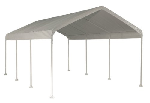 ShelterLogic-10-x-20-Feet-Canopy-2-Inch-  sc 1 st  Discount Tents Nova & ShelterLogic 10 x 20-Feet Canopy 2- Inch 4-Rib Frame White Cover ...