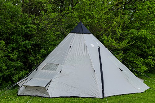 Tahoe Gear Bighorn Xl 12 Person 18 X 18 Teepee Cone Tent