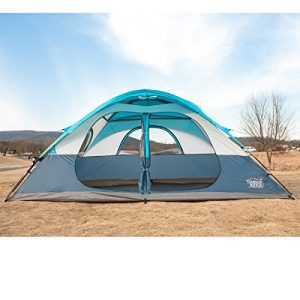 Timber-Ridge-Family-Tent-for-Camping-with-Carry-Bag-2-doors-2-Rooms-0-0