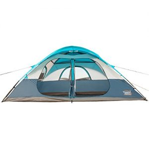 Timber-Ridge-Family-Tent-for-Camping-with-Carry-Bag-2-doors-2-Rooms-0