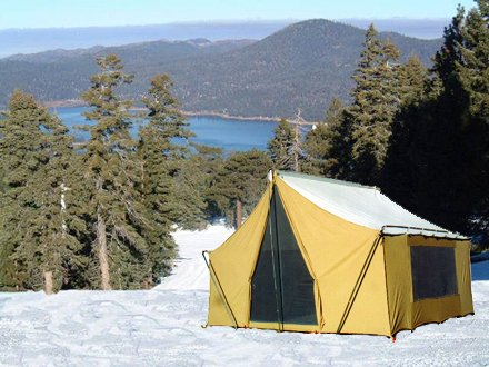 Trek Tents 245c Cavas Cabin 9 X 12 Heavy Duty Cotton