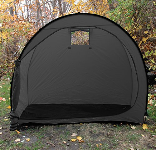 Wealers outdoor portable garage shed bicycle storage tent for Portable outside storage sheds