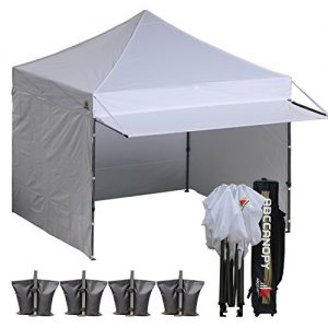 10x10-AbcCanopy-Easy-Pop-up-Canopy-Tent-Instant-Shelter-Commercial-Portable-Market-Canopy-with-Matching-Sidewalls-Weight-Bags-Roller-BagBOUNS-Canopy-awning-white-0