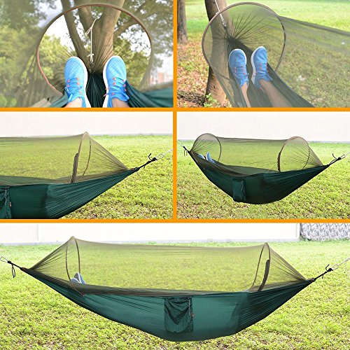 9 5 Feet Hammock With Mosquito Net Tent For 4 Season