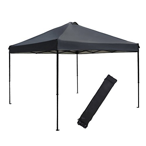 Portable Outdoor Canopy : Abba patio ft outdoor pop up portable shade