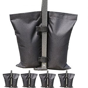 AbcCanopy-Weights-Bag-Leg-Weights-for-Pop-up-Canopy-Tent-Weighted-Feet-Bag-Sand-Bag-4pcs-pack-0