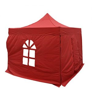 An-rui-2m2m-stainless-steel-pop-up-canopy-worsted-encryption-Oxford-300d-lined-with-soft-PU-membrane-waterproof-cloth-Durable-tear-resistant-with-wallside-red-0
