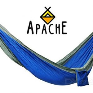 Apache-Outdoor-Nylon-Camping-Hammock-for-Two-Premium-Lightweight-Compact-Portable-for-Camping-Hiking-Backyard-Lounging-More-Made-of-Durable-Parachute-Nylon-0