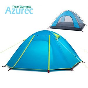 Azurec-2-3-4-Person-3-Season-Double-Doors-Lightweight-Waterproof-Double-Layer-Backpacking-Tent-for-Camping-Hiking-Azure-3-Person-0