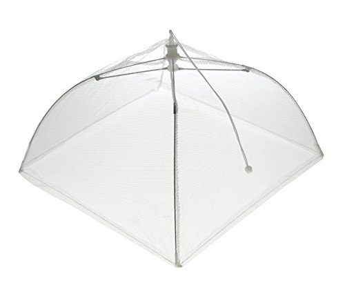 Bekith-Set-of-4-Pop-Up-Mesh-Screen-  sc 1 st  Discount Tents Nova & Bekith Set of 4 Pop Up Mesh Screen Food Cover Tents White 12 Inch ...