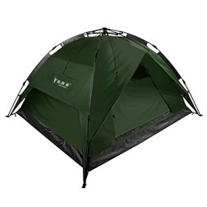 Camping-3-4-Person-Waterproof-Double-Layer-Automatic-Tent-Army-Green-0