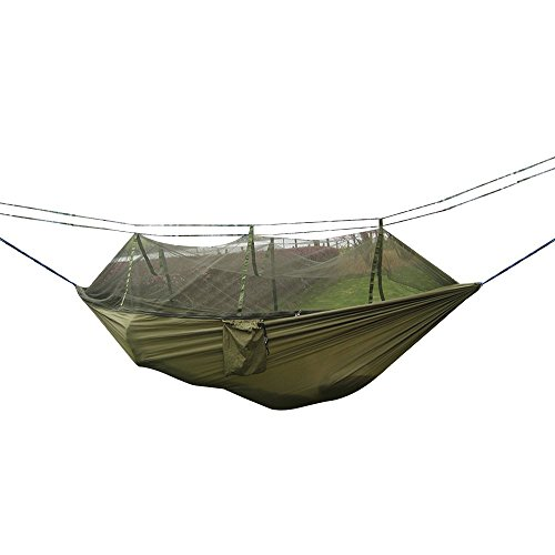Tent Hammock For Two : Camping hammock rusee mosquito net outdoor travel