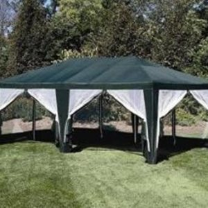 Deluxe-Party-Tent-Sun-Shelter-20ft-x-12ft-in-Green-0