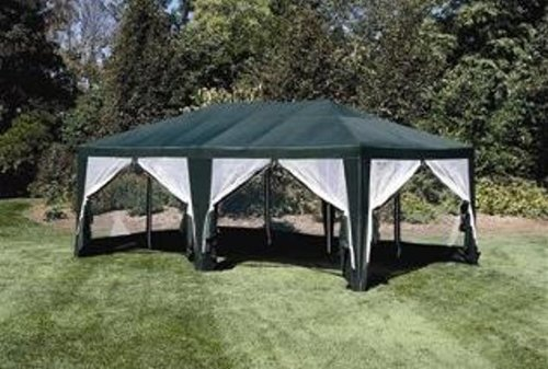 Car Shelter 12 20 : Deluxe party tent sun shelter ft in green