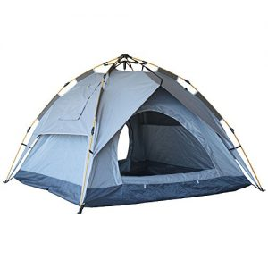 Eagletail-Outdoor-Instant-Tent-with-Canopy-3-Person-Automatic-Camping-Tent-Quick-Easy-3-Step-Setup-All-Weather-Family-Tent-for-IndoorOutdoor-Use-0