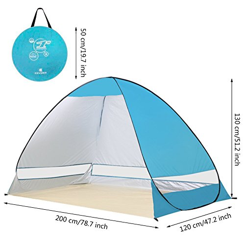 G4Free-Outdoor-Automatic-Pop-up-Instant-Portable-Cabana-  sc 1 st  Discount Tents Nova & G4Free Outdoor Automatic Pop up Instant Portable Cabana Beach Tent ...